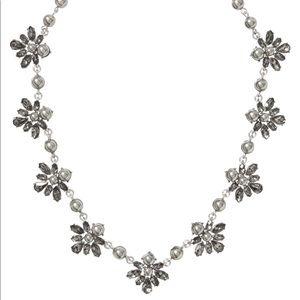 Banana Republic Grey Pearl Necklace